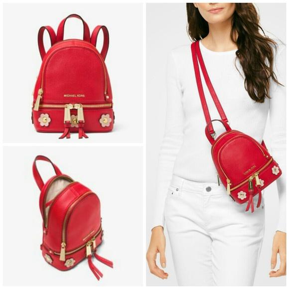 53d0cb99c95a Michael Kors Bags   Rhea Convertible Mini Backpack   Poshmark